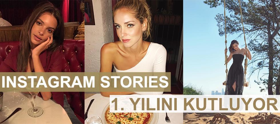 INSTAGRAM STORIES 1. YILINI KUTLUYOR