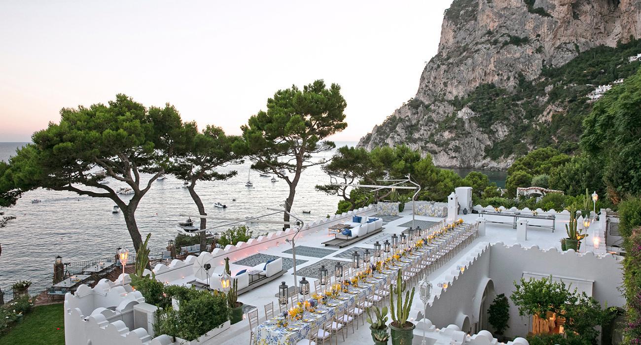 Aquazzura'dan Capri'de özel davet