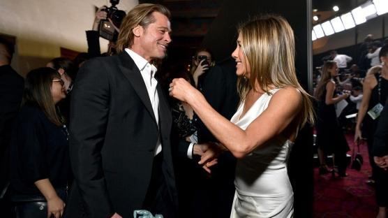 Yeniden Yan Yana: Jennifer Aniston & Brad Pitt