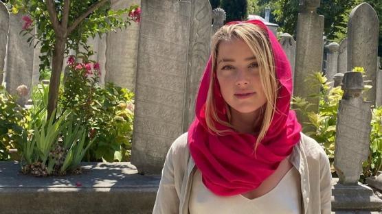 Amber Heard İstanbul'dan Sonra Kapadokya'da