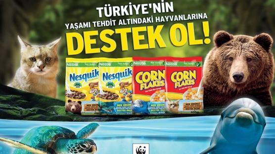 Nestlé'den Doğal Yaşama Destek