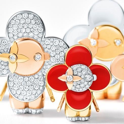 Louis Vuitton'un Vivienne'i Mücevher Dünyasına Giriyor