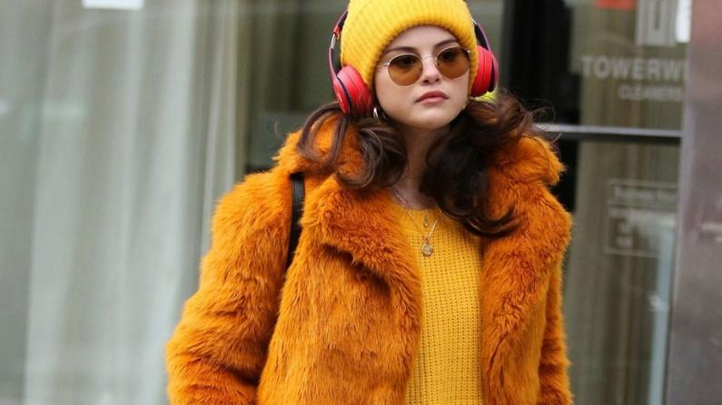 Selena Gomez'in İlham Veren Kış Gardırobu