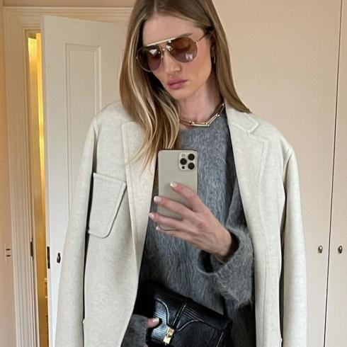Rosie Huntington-Whiteley'den 7 Kombin Önerisi