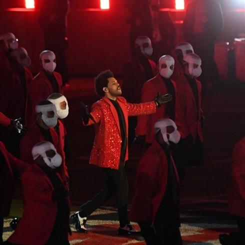 The Weeknd'in Super Bowl Şovu