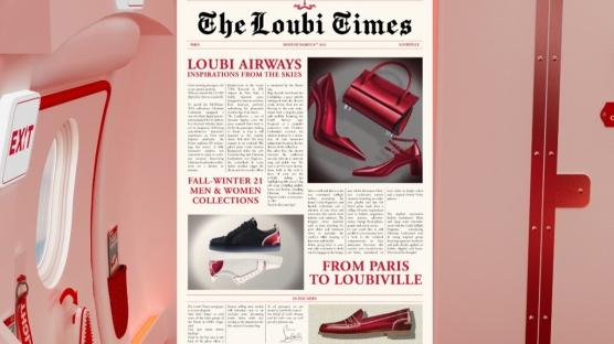 Christian Louboutin'den Loubi Airways