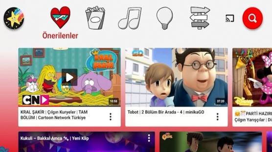 YouTube Kids Artık Türkiye'de
