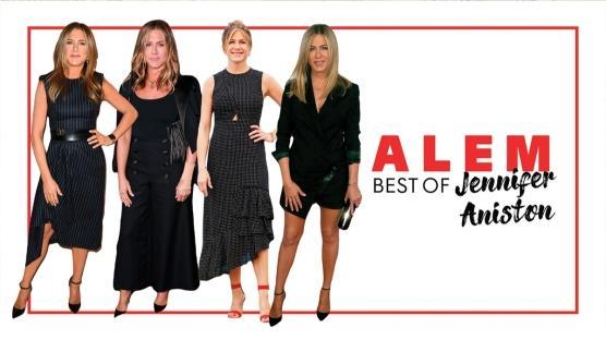 Jennifer Aniston'ın En İyi 10 Siyah Görünümü