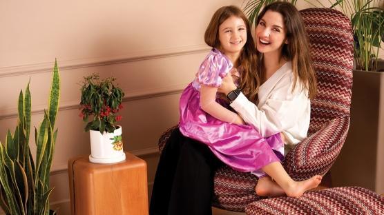 Merve Özkaynak ve Kızı Melisa