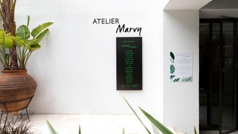 """Atelier Marvy'de """"Yeşilmişik"""" Sergisi"""