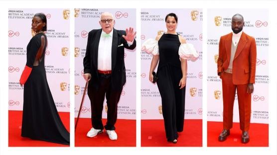 BAFTA TV Ödülleri'nin Öne Çıkan Kırmızı Halı Görünümleri