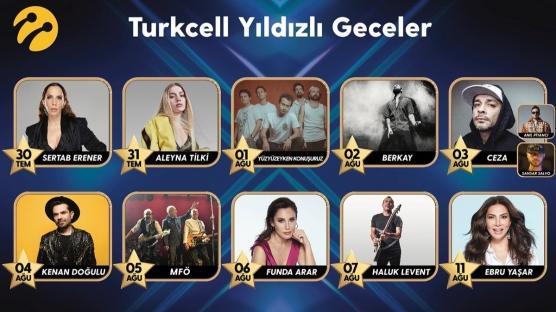 Turkcell'den Yıldızlı Geceler