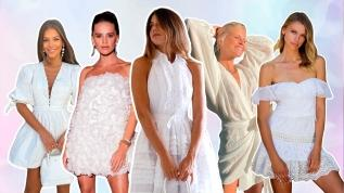 En İyi Beyaz Elbise Görünümleri