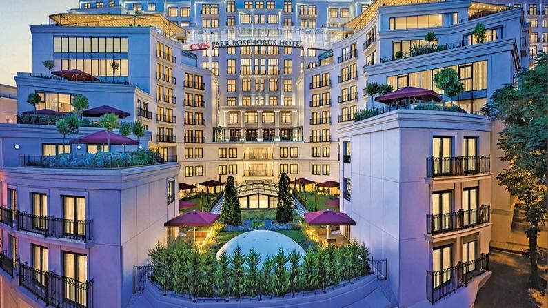 Yeni Bir Deneyim: CVK Park Bosphorus Hotel