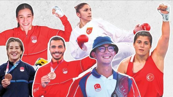 Tokyo 2020 Olimpiyatları; Türkiye'nin Kazandığı Madalyalar