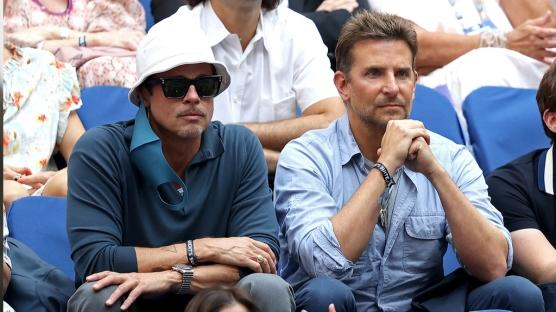 Brad Pitt ve Bradley Cooper U.S. Open Finalini Birlikte İzledi