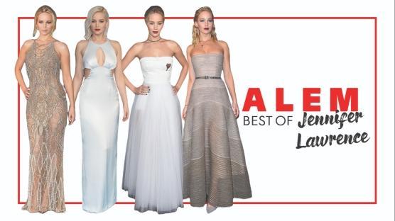 Jennifer Lawrence'ın En İyi 10 Kırmızı Halı Görünümü