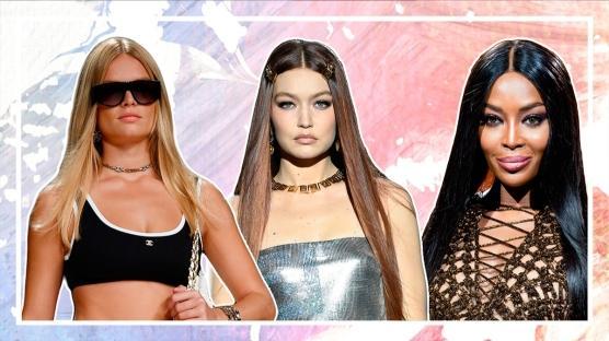 Podyumlardan Öne Çıkan Düz Saç Trendi