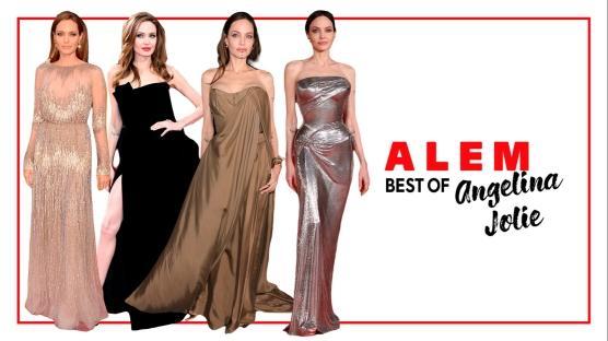 Angelina Jolie'nin En İyi 10 Kırmızı Halı Görünümü